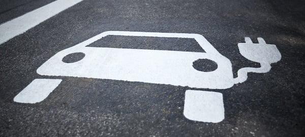 Electric Car Parking Bay